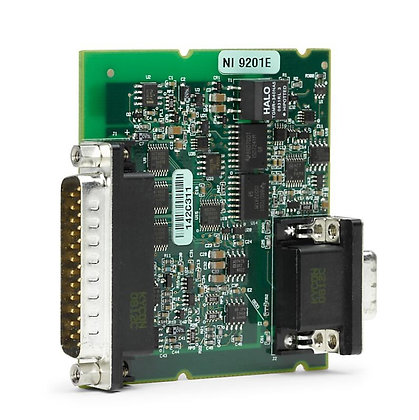 NI 9201E DSUB 8-Ch ±10 V, 500 kS/s, 12-Bit AI Module BOARD-ONLY