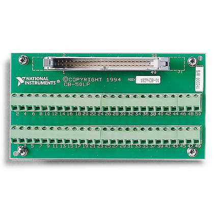 CB-50LP Low-Cost, Unshielded I/O Connector Block