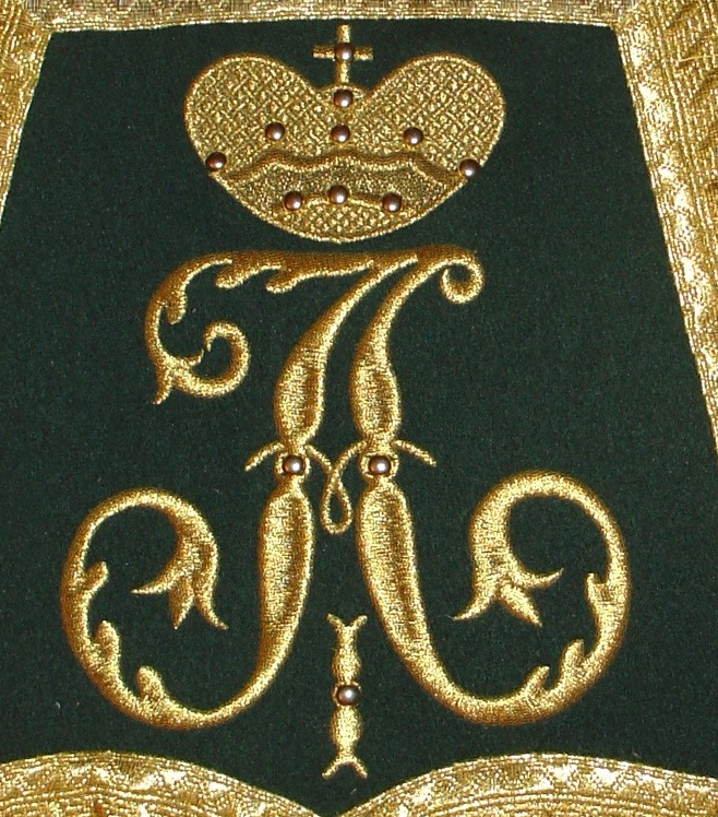 Initialen Zar Alexander I.