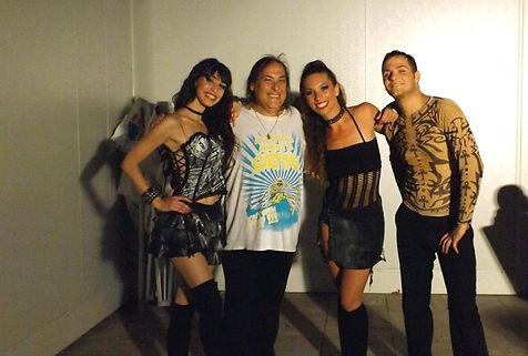 Les danseuses et danseur des 80's & MM.j