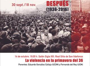 EL FRENTE POPULAR: la violencia en la primavera de 1936