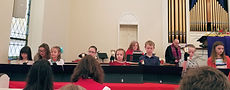 Junior Handbell Choir at CPC