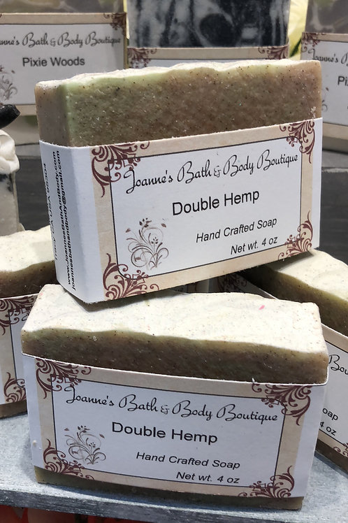 Double Hemp Soap - Unscented