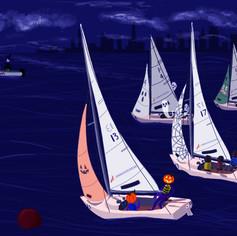 Courageous Halloween regatta