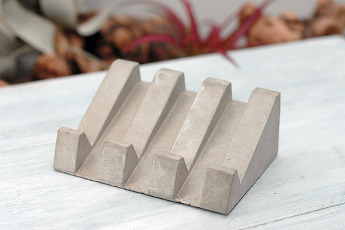 Concrete Soap Dish - Self Draining