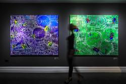 Gallery installation.