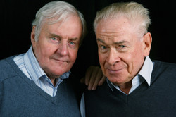 Richard Briers and Stanley Baxter