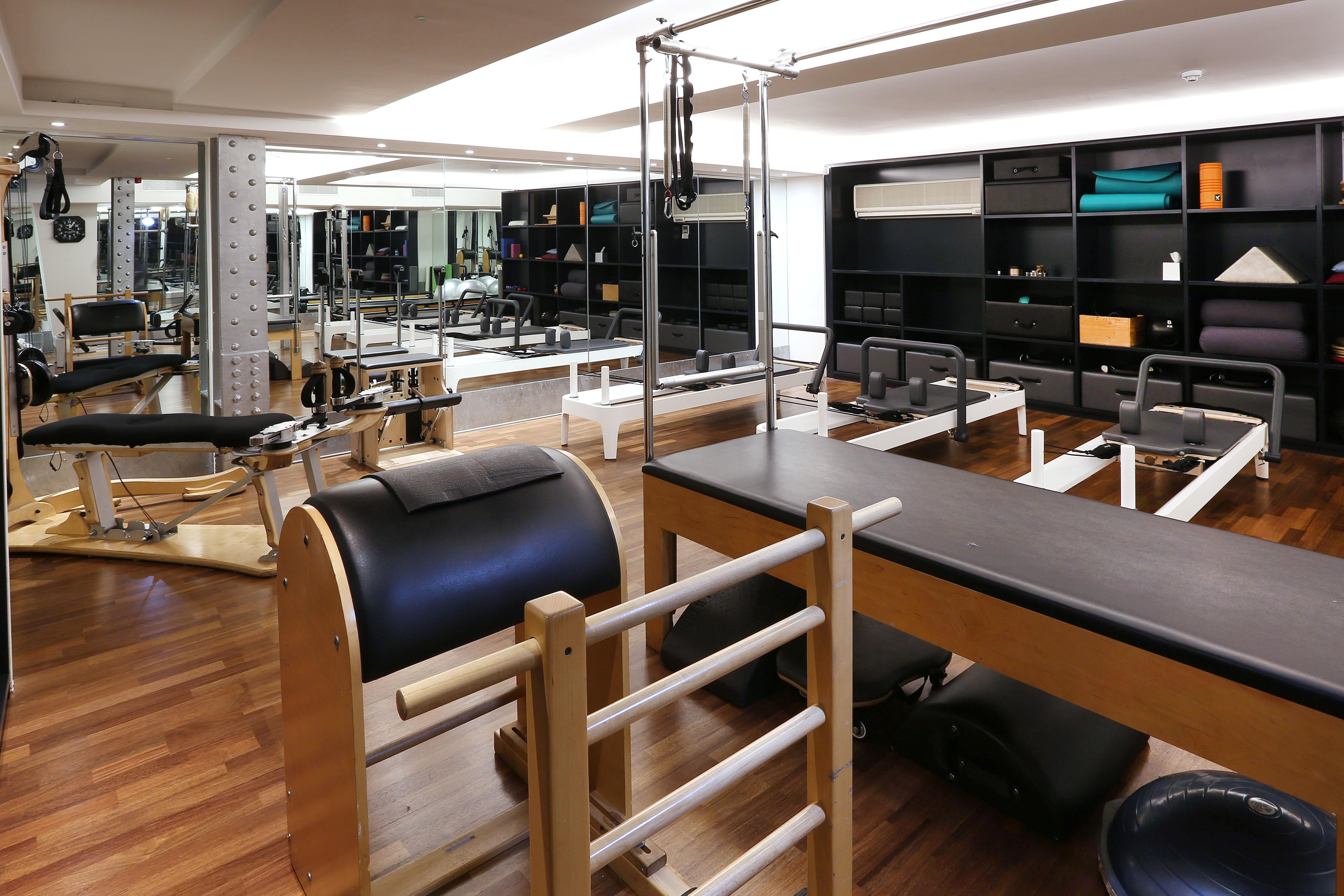 Pilates gym.