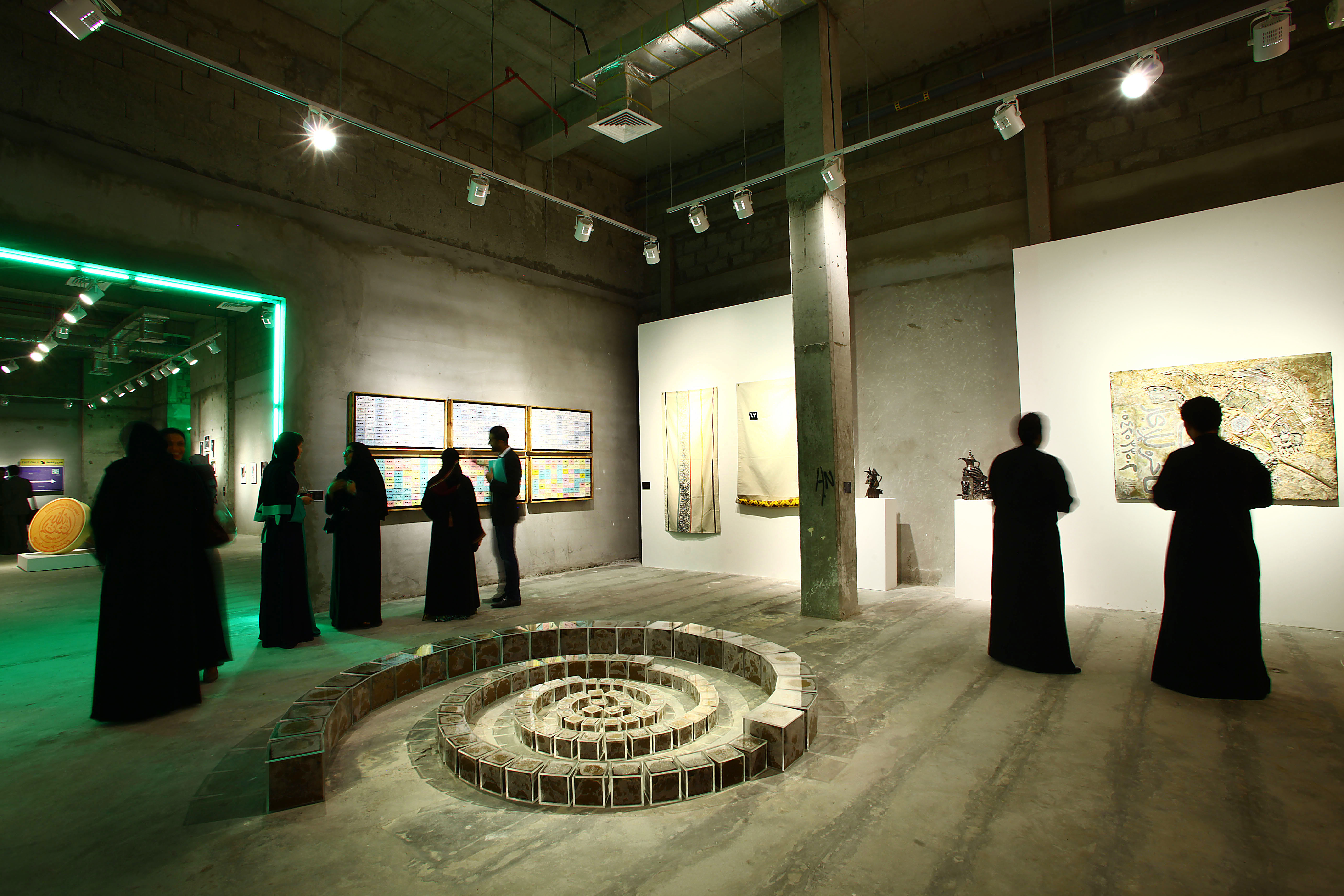 Exhibtion opening, Jeddah.
