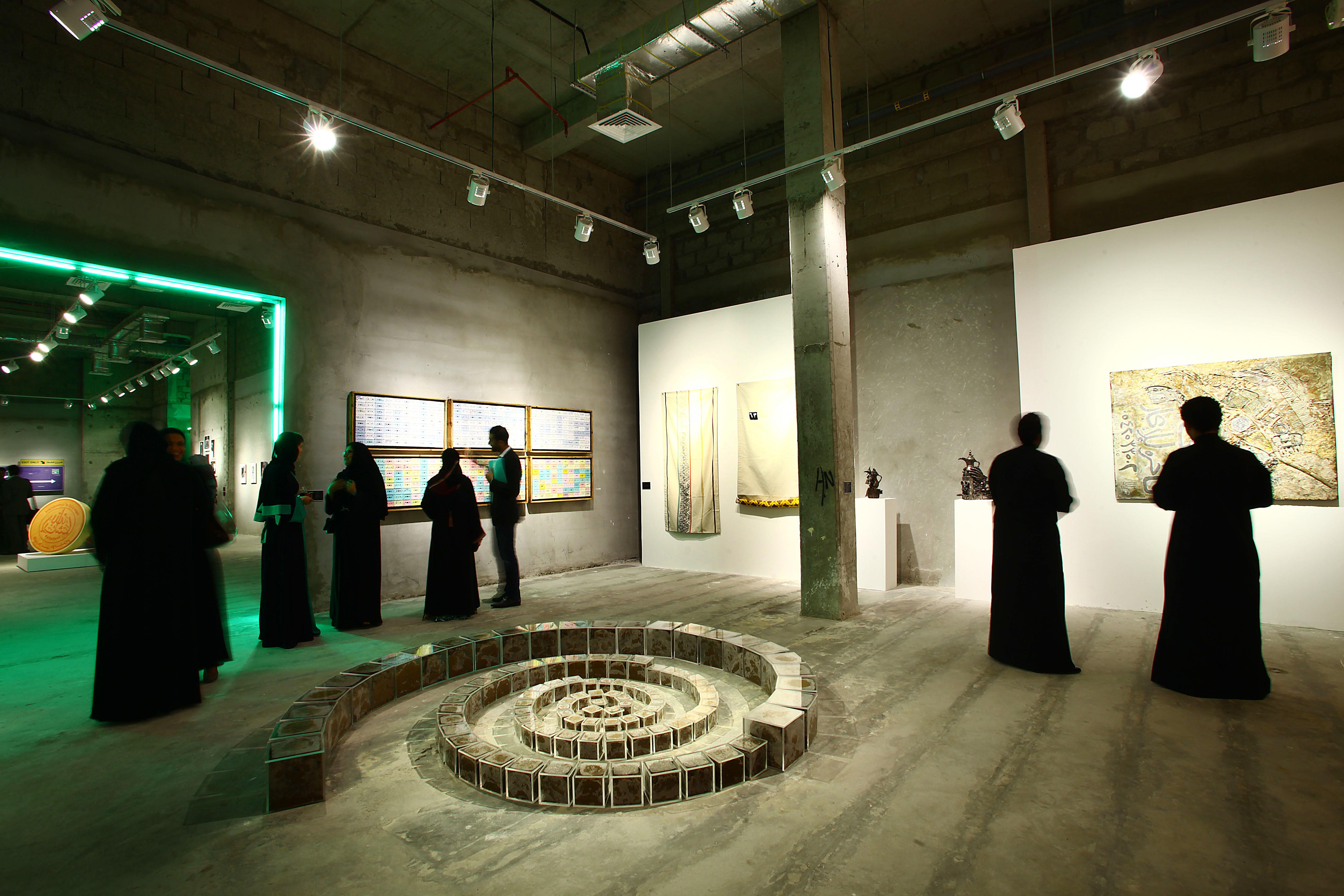 Exhibtion opening, Jeddah.