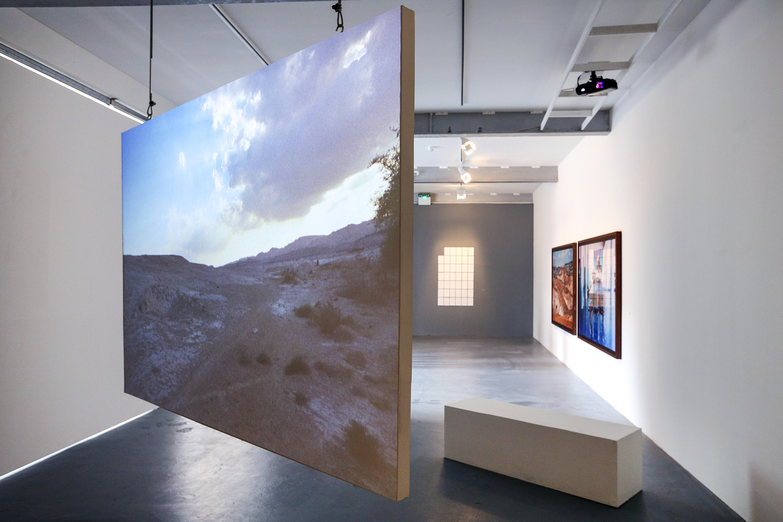Exhibition installation.