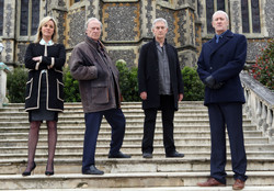 The cast of New Tricks.