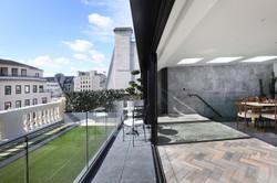 Gatti House penthouse.