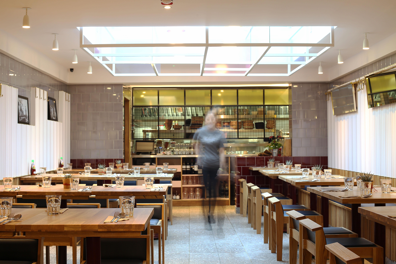 Restaurant Islington interior.
