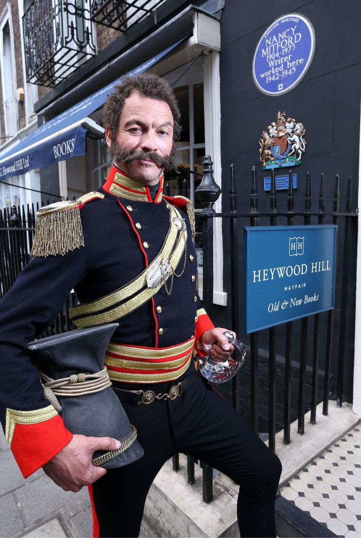 Dominic West as Sir Harry Flashman.