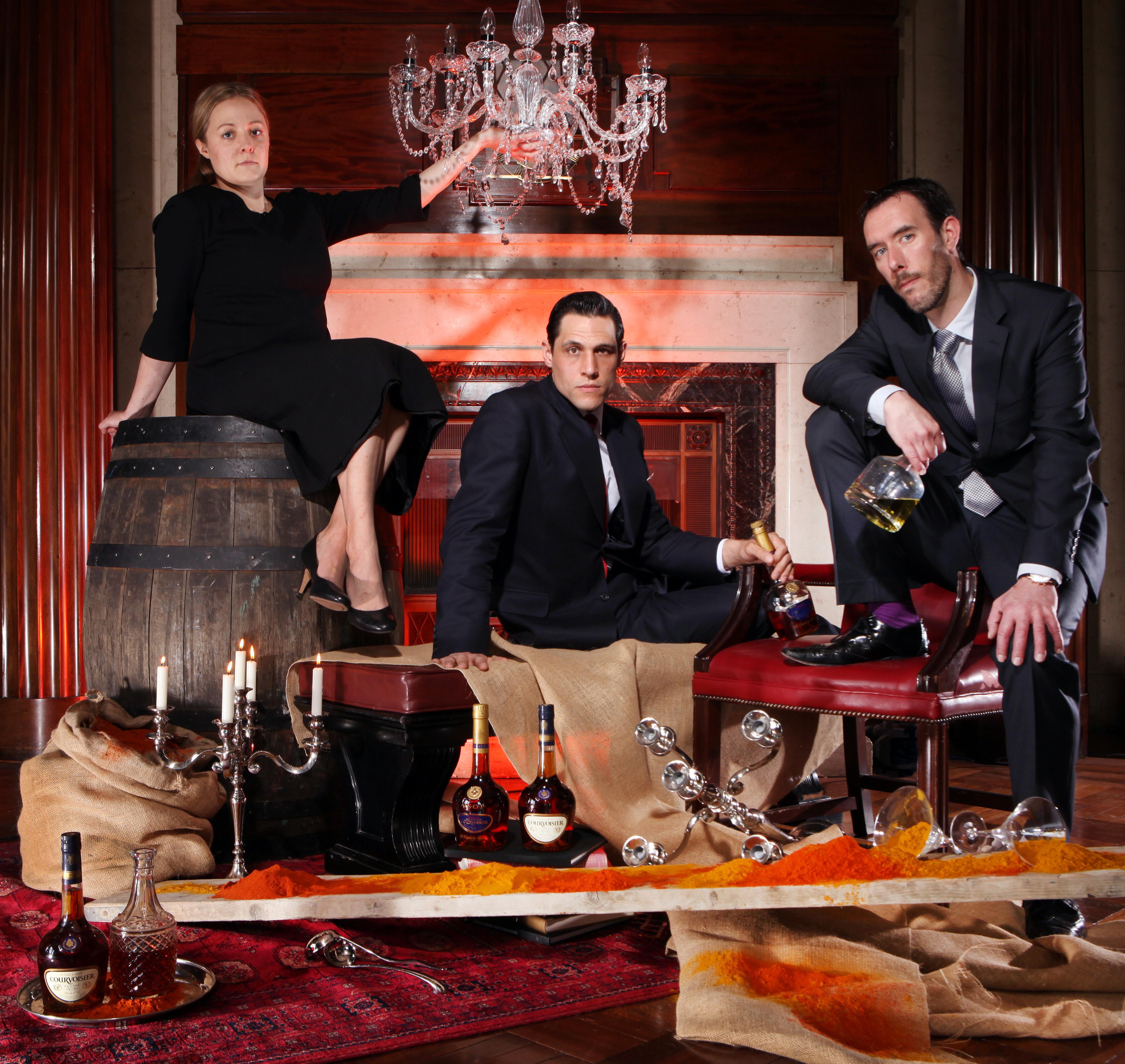 Courvoisier brand ambassadors.