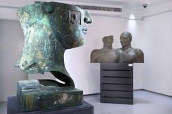 Igor Mitoraj exhibtion.