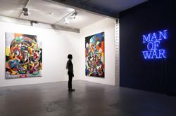 Man of War Exhibition.
