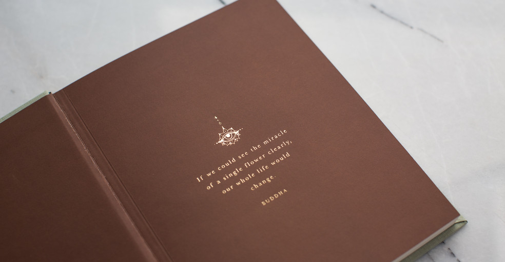 "Boho Notebook: No.03 - ""Sandhya"""