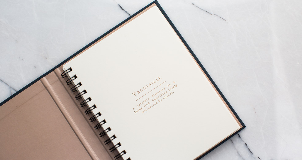 """Ethos Notebook: No.05 - """"Trouvaille"""""""
