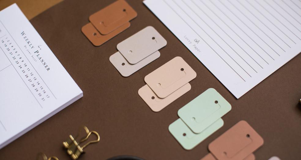 Luvvy Paper Planner Kit