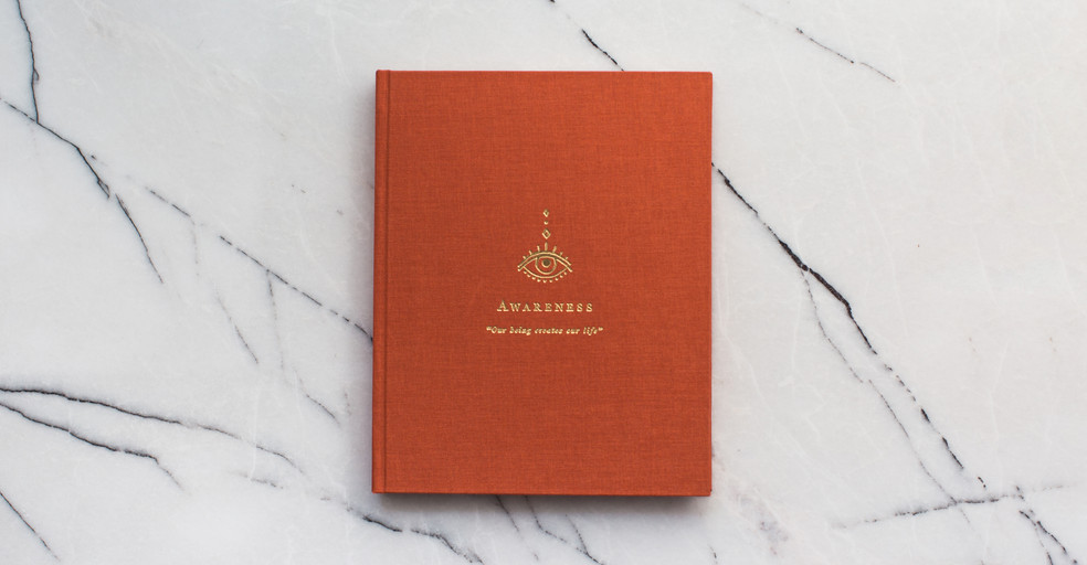 """Boho Notebook: No.01 - """"Awareness"""""""