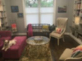 Fun sitting room