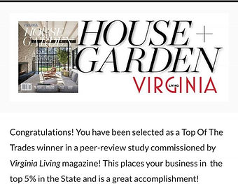House & Garden Award Loudoun Interiors