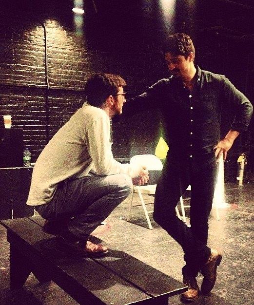 Beckett | directing Yuri Sardarov
