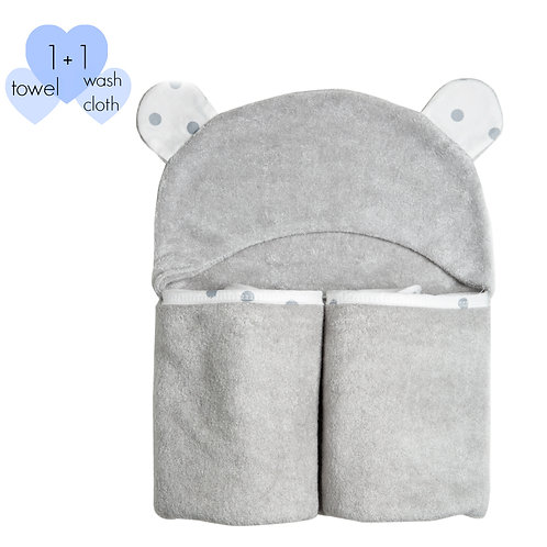 Luxury Bamboo Towels with Washcloth