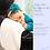 Thumbnail: Baby Muslin Burp Cloth - Natural Bamboo/Cotton - Love Design