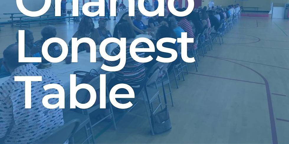 Orlando's Longest Table
