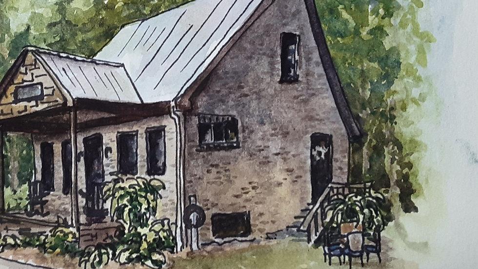 Commission house portrait