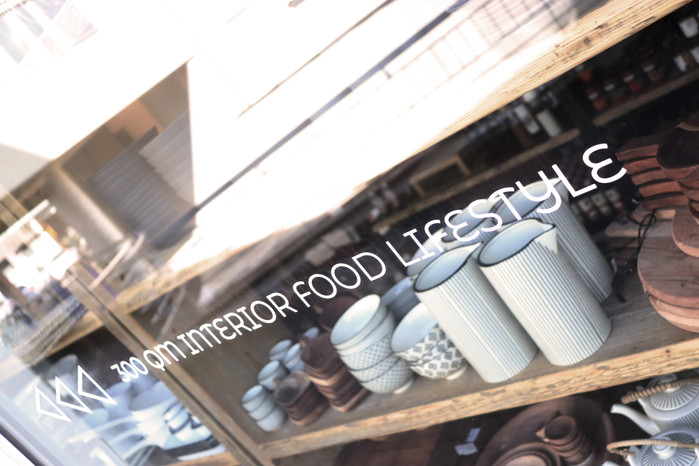 Schaufenster-Branding