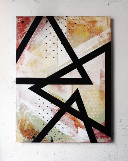 Artwork, Acryl auf Leinwand