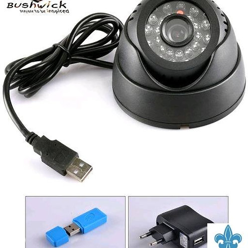 P4. Night Vision Security CCTV Camera With Bluetooth Headset With Mic