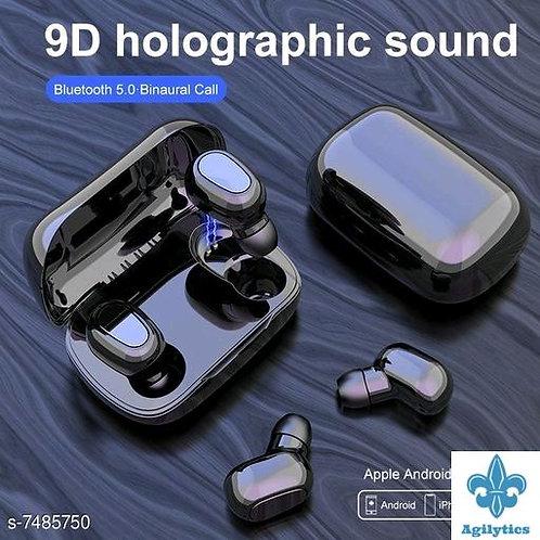 P17. Wireless dual ear High Bass Bluetooth Headset with Mic
