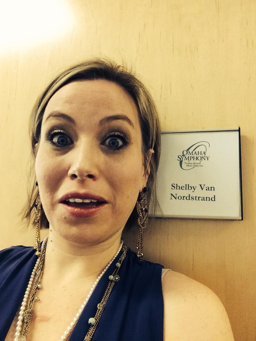 Backstage selfie!