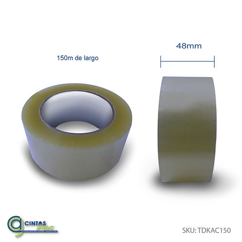 Poliempaque Transparente Adhesivo Acrílico