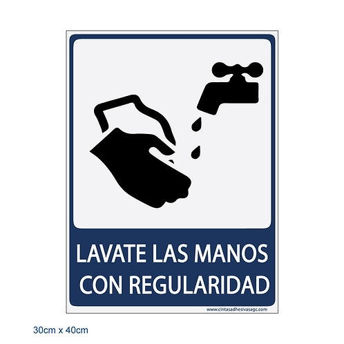 Lávate las Manos con Regularidad