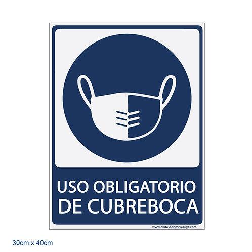 Uso Obligatorio de Cubreboca