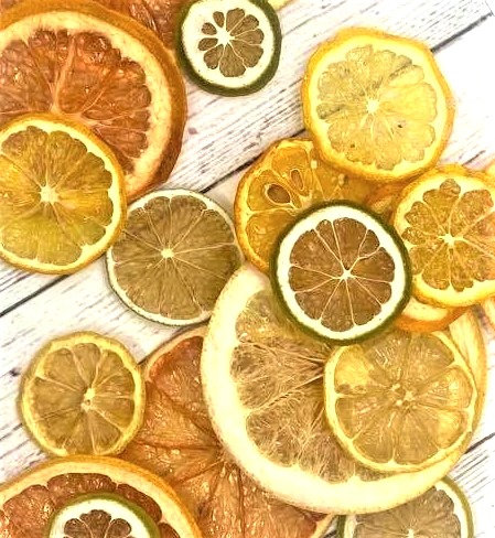Dried Mixed Fruit Citrus Wheels 100g
