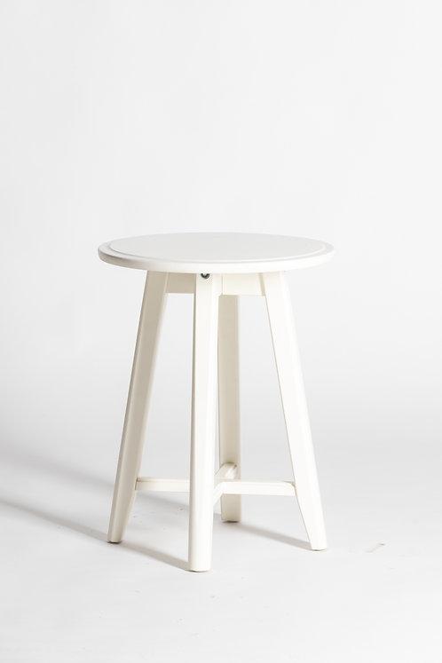 Visoka bela barska miza (4 noge)