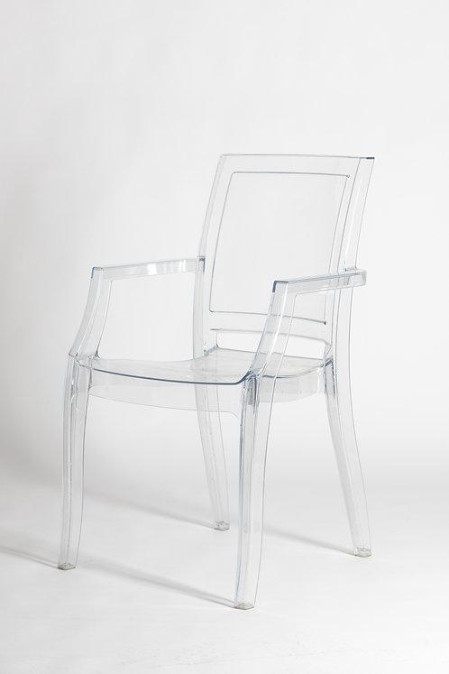 Prozoren pleksi eleganten stol Artur