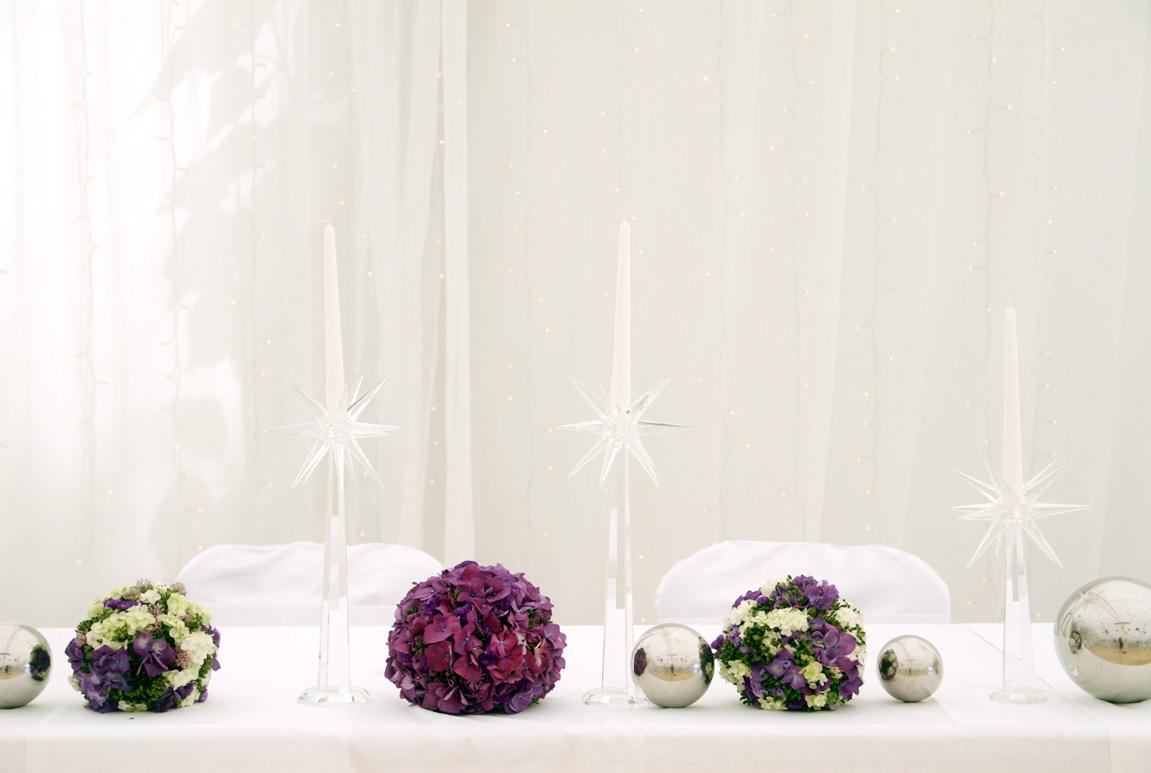 Poročna dekoracija miz