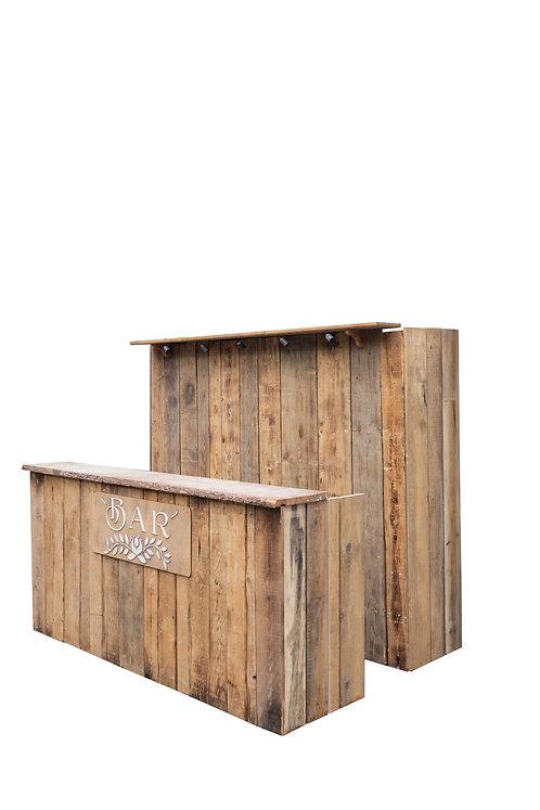 DIY leseni bar