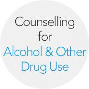 Click Here for Alcohol & Other Drug Use Counselling