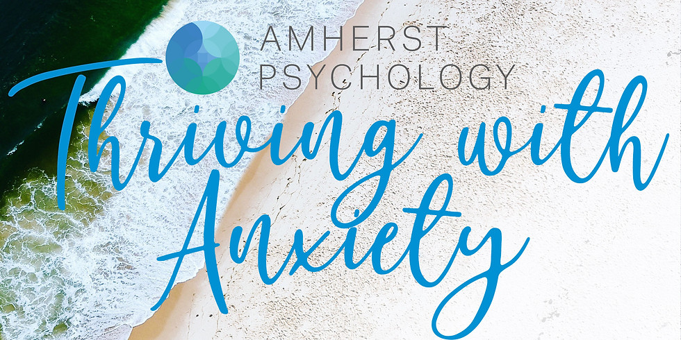 Thriving with Anxiety - Free Community Talk