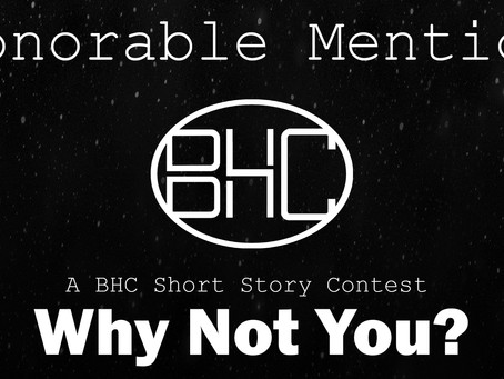 Short Story Contest Winner: Honorable Mention, Aidan Catriel