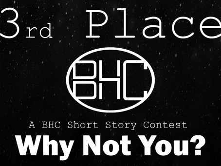 Short Story Contest Winner: 3rd Place, Nelson Vicens